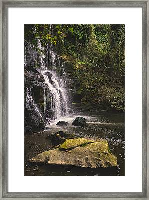 Bajouca Waterfall Ix Framed Print by Marco Oliveira
