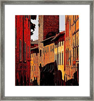 Baked In The Tuscan Sun Framed Print by Ira Shander
