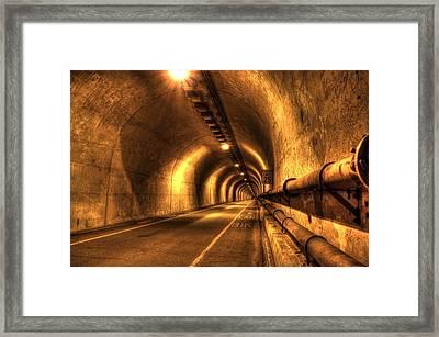 Baker Barry Tunnel Framed Print