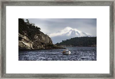 Baker Boat Framed Print by Richard Mason