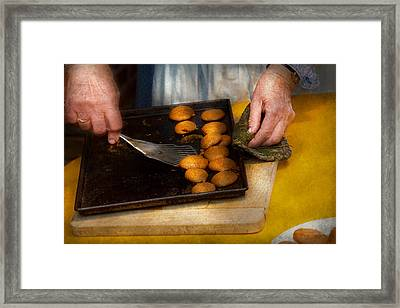 Baker - Food - Have Some Cookies Dear Framed Print by Mike Savad