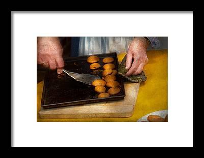 Ginger Snap Framed Prints