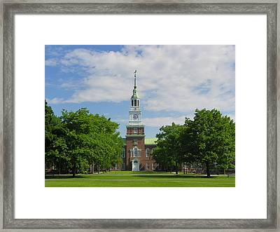 Baker Memorial Library Framed Print