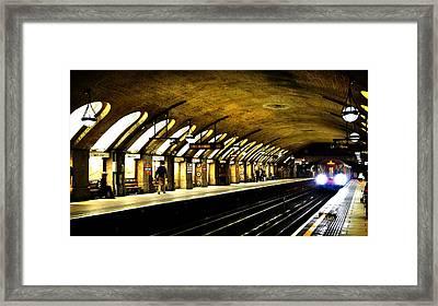Baker Street London Underground Framed Print by Mark Rogan
