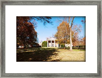 Baker-watt From A Distance Framed Print by Paulette B Wright