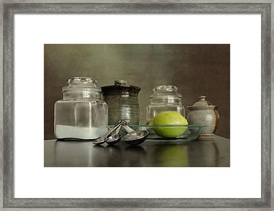 Baker's Kitchen Framed Print by IM Spadecaller