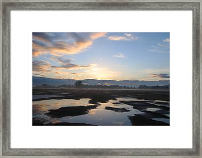 Framed Print featuring the photograph Bakersfield Sunrise by Meghan at FireBonnet Art