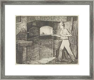 Bakery, Eberhard Cornelis Rahms Framed Print by Eberhard Cornelis Rahms
