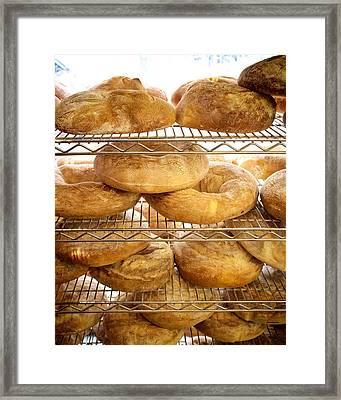 Bakery In Little Portugal In Toronto Framed Print by Tanya Harrison