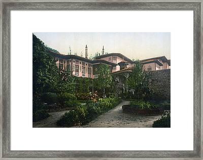 Bakhchisaray Harem, C1900 Framed Print by Granger