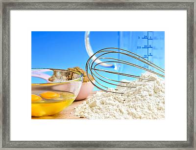 Baking Framed Print by Elena Elisseeva