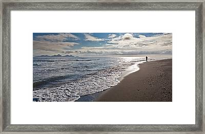 Bakkafjara Beach, South Coast, Iceland Framed Print