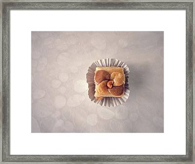 Baklawa With Almonds Framed Print by Samere Fahim Photography