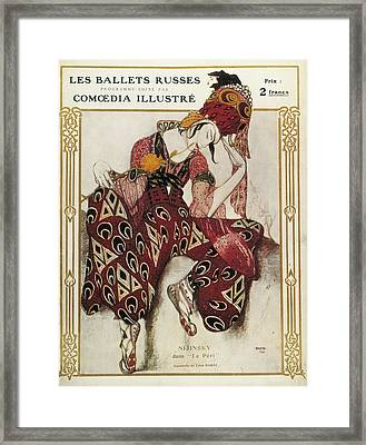 Bakst, L�on 1866-1924. La P�ri. 1911 Framed Print by Everett