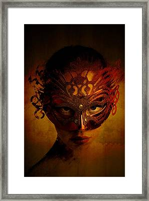 Bal Masque Framed Print