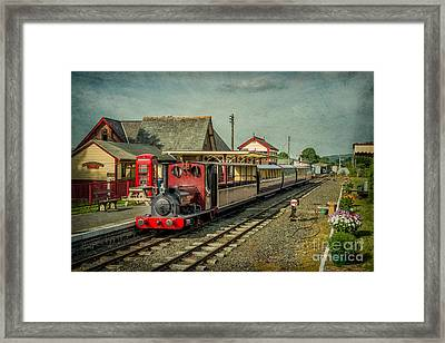 Bala Lake Railway Framed Print by Adrian Evans