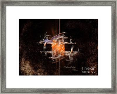 Framed Print featuring the painting Balance by Alexa Szlavics