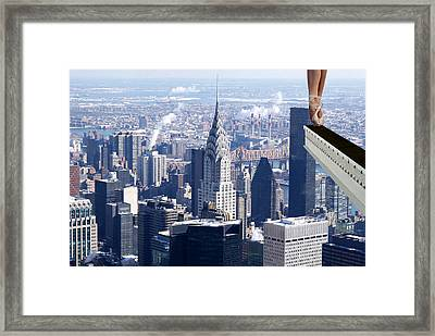 Balance Is Everything Framed Print