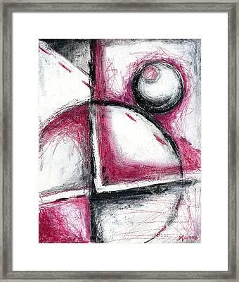 Balance Framed Print by Laura  Gomez