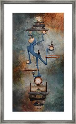 Balance Framed Print by Lorraine Ulen