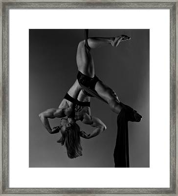 Balance Of Power 2012-great Right Hook Framed Print