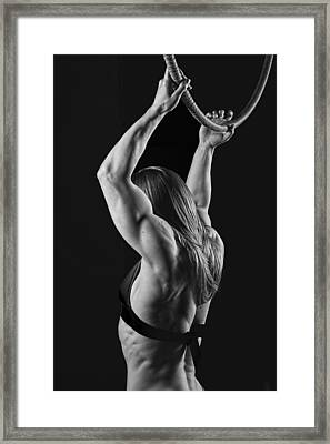 Balance Of Power Flexion Framed Print