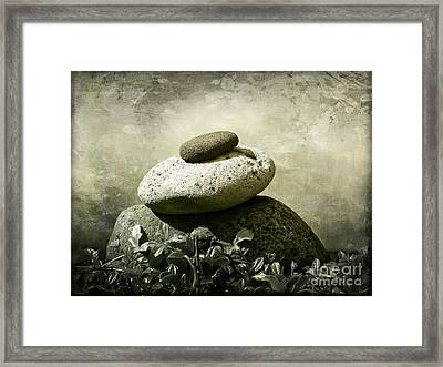 Balanced 2 Framed Print
