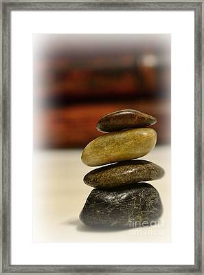 Balanced Framed Print