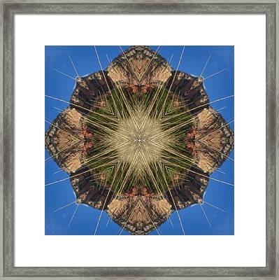 Framed Print featuring the digital art Balanced by Trina Stephenson