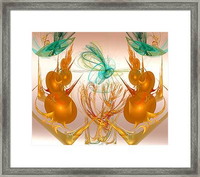 Balancing Act Framed Print by Camille Lopez