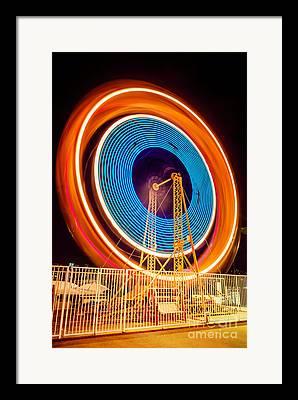 Spinning Wheel Framed Prints