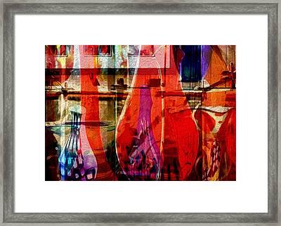 Balboa Glasslight Framed Print