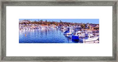 Balboa Island - South Framed Print by Jim Carrell