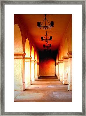 Balboa Park At Sunrise Xl Framed Print