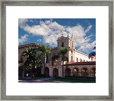 Balboa Park - Casa De Balboa Framed Print
