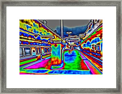 Framed Print featuring the photograph Balboa Park by Nick David
