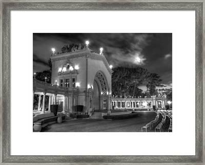 Balboa Park Organ Pavilion Framed Print