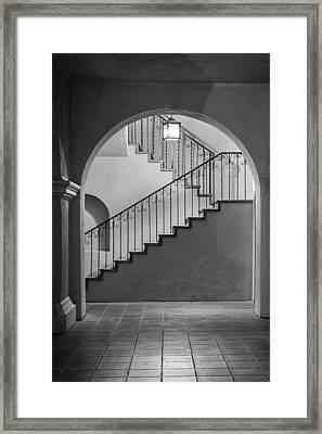 Balboa Park Stairs Framed Print