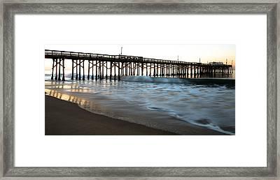 Balboa Pier  Framed Print