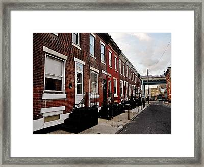 Balboa Residence Framed Print by Benjamin Yeager