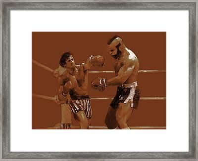 Balboa V. Lang Framed Print by Kurt Ramschissel