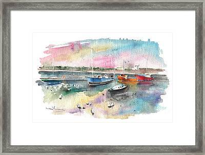 Balbriggan Harbour 02 Framed Print by Miki De Goodaboom