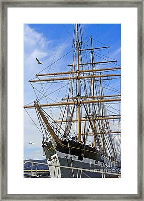 Framed Print featuring the photograph Balclutha by Kate Brown
