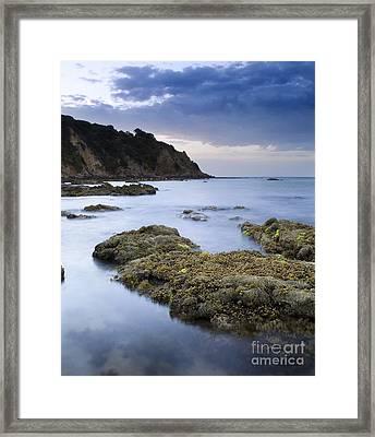 Balcombe Point Mount Martha Framed Print by Tim Hester