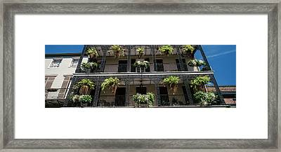 Balconies Of A Building, French Framed Print by Panoramic Images