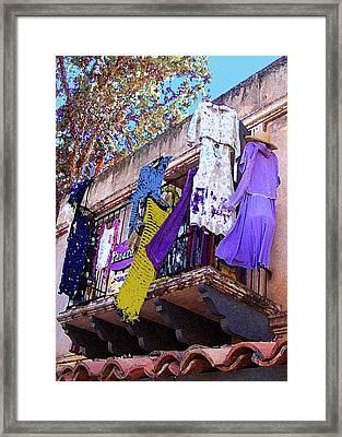 Balcony Framed Print by Ben and Raisa Gertsberg