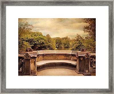 Balcony Bridge Framed Print by Jessica Jenney