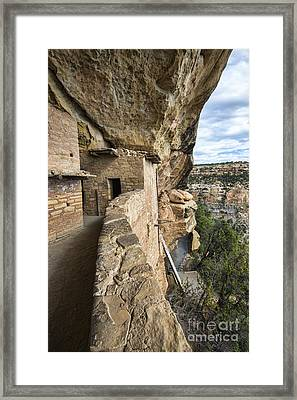 Balcony Houes 2 Framed Print by Keith Ducker