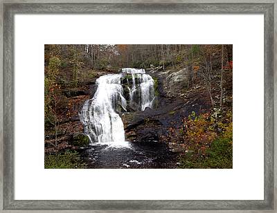 Framed Print featuring the photograph Bald River Falls by Robert Camp