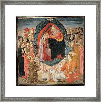 Baldassarre Di Biagio Del Firenze Framed Print by Everett